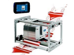Šiluminio užnešimo spausdintuvai spausdinimui ant pakavimo plėvelės